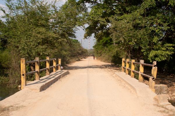 Carretera de Terraceria que de Las Cruces Conduce a Bethel