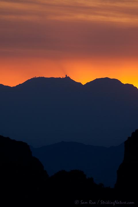 Kitt Peak Sunset