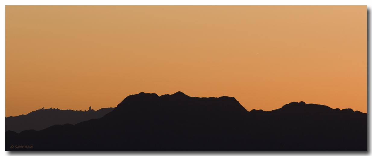 Kitt Peak & Comet Sunset