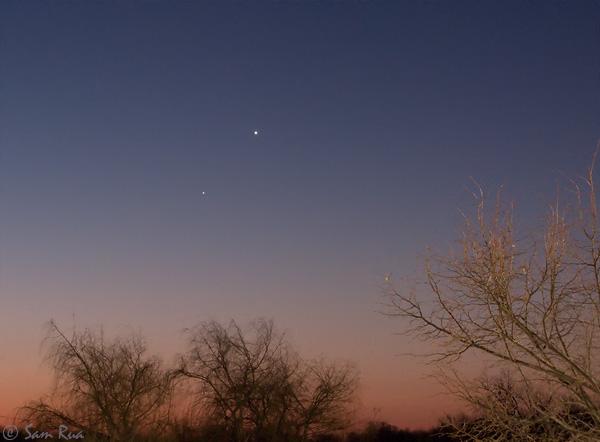 Planet Pair at Dawn