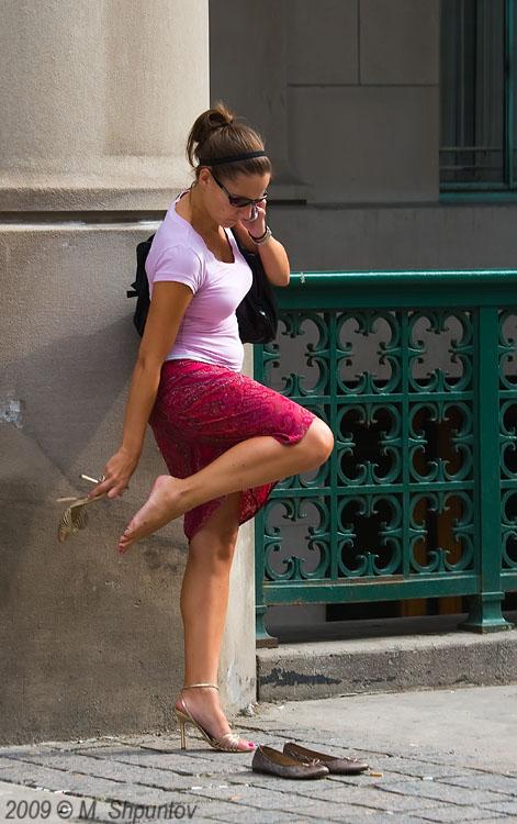 Candid street legs pics