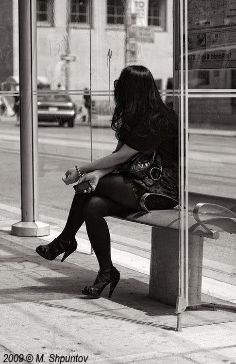 Street in 50mm Black & White. Candids