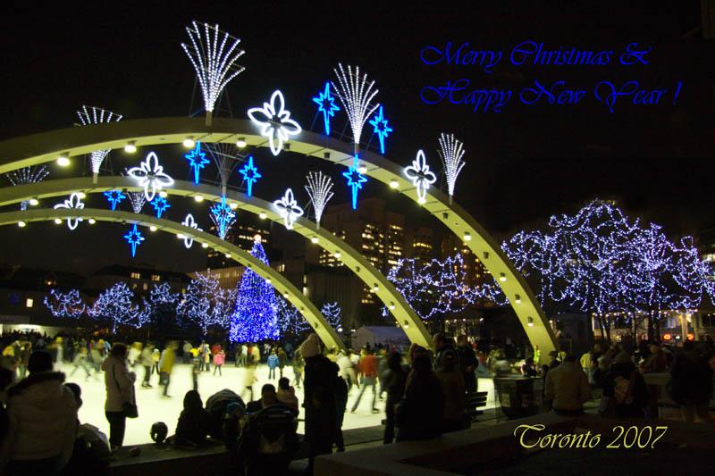 Torontos Cavalcade Of Lights