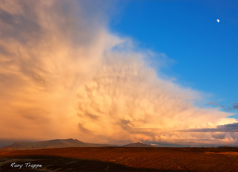 Storm over the Arenig range.