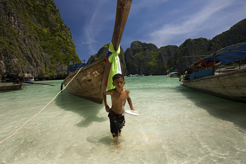 Boy on Maya Beach (Thailand)