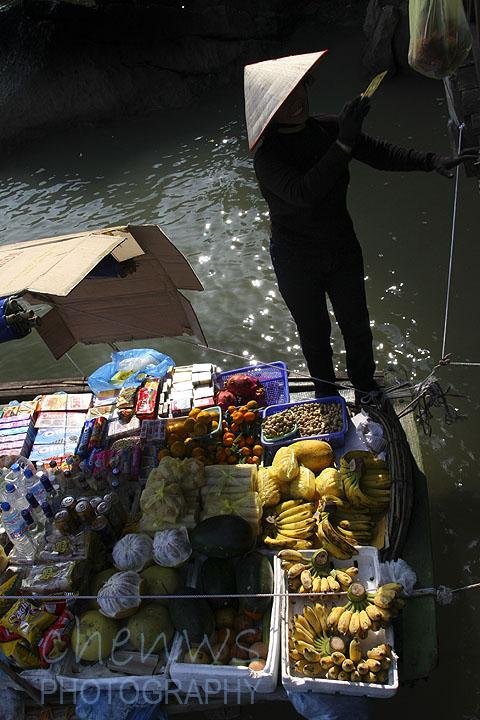 Boat vendors