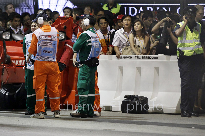 Marshals and spectators