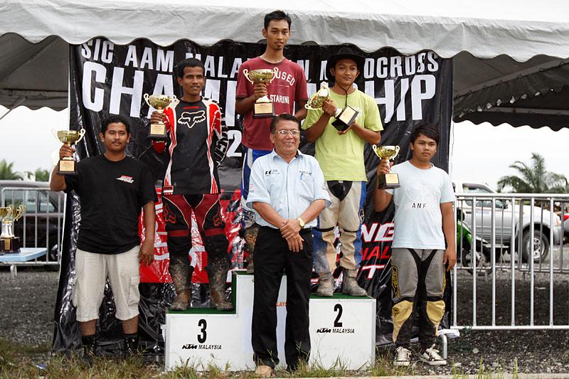 Trail bike winners