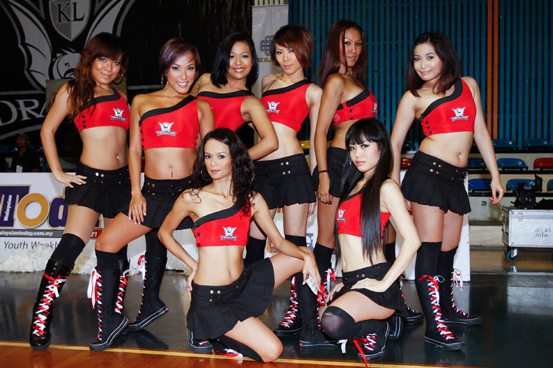 Cheerleaders, The Dragonettes (0519)