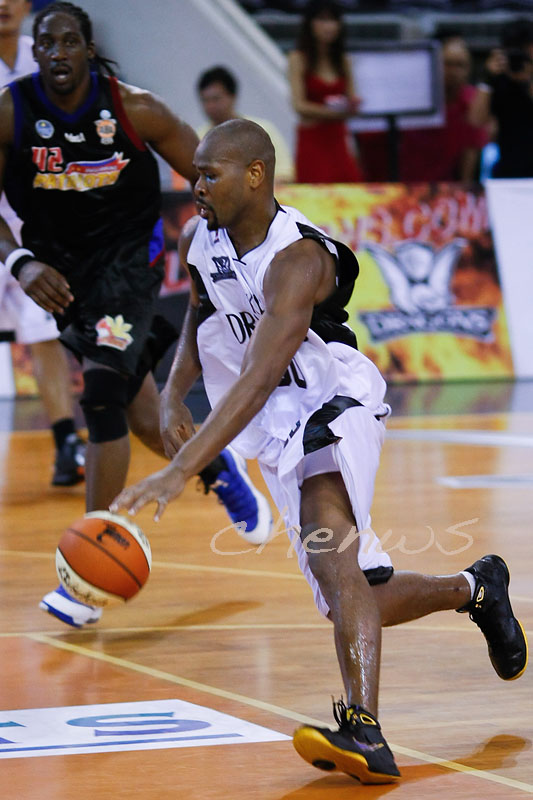 Jamal Brown in action (5672)