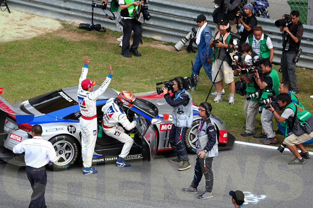 Winner of GT500, WEIDER Honda Racing