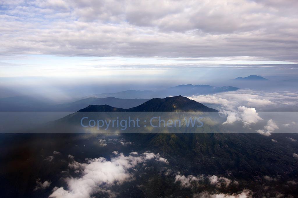 Aerial view of Sumatera, Indonesia