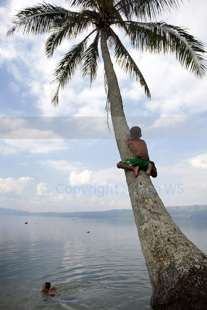 Afternoon delight, Lake Singkarak