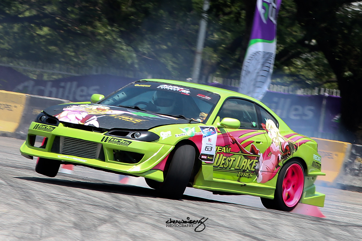 Koh Kok Hoor (Ace Boy) from Malaysia driving for Team Westlake Tyres.