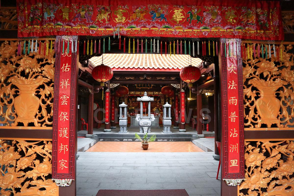 Chinese temple, Kuala Terengganu