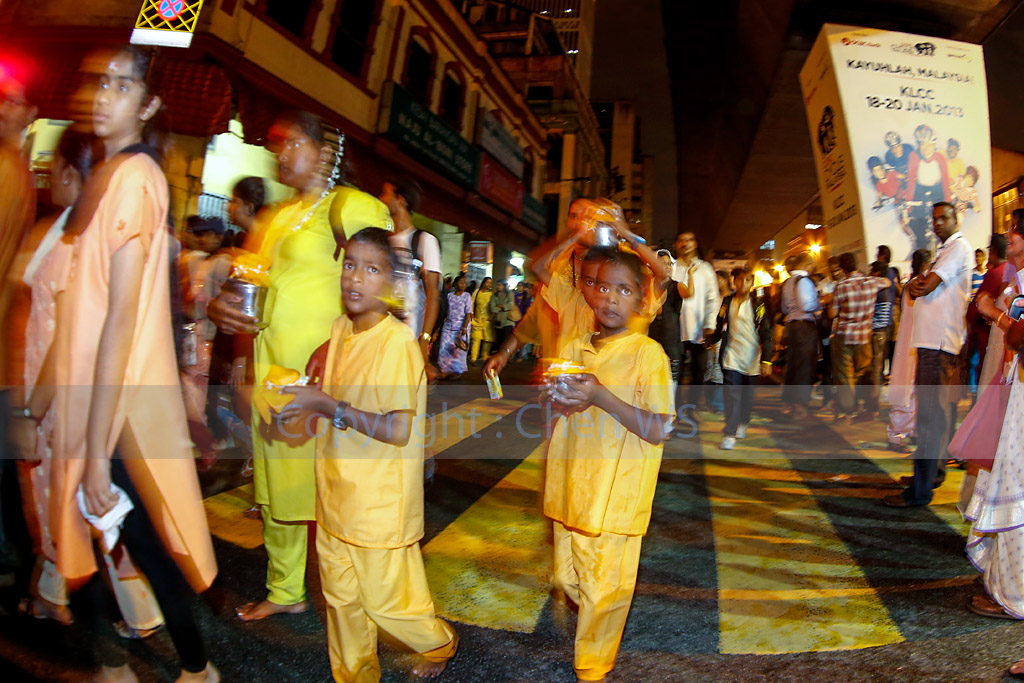 Walking on the streets of KL