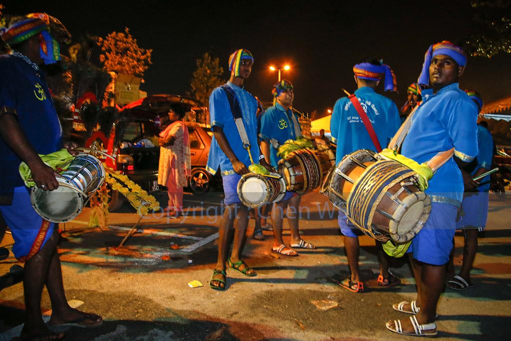 Urumi Melam percussion band