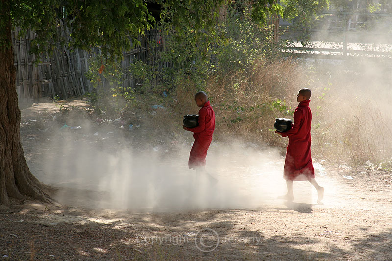 Two Monks On A Dusty Track (Dec 06)