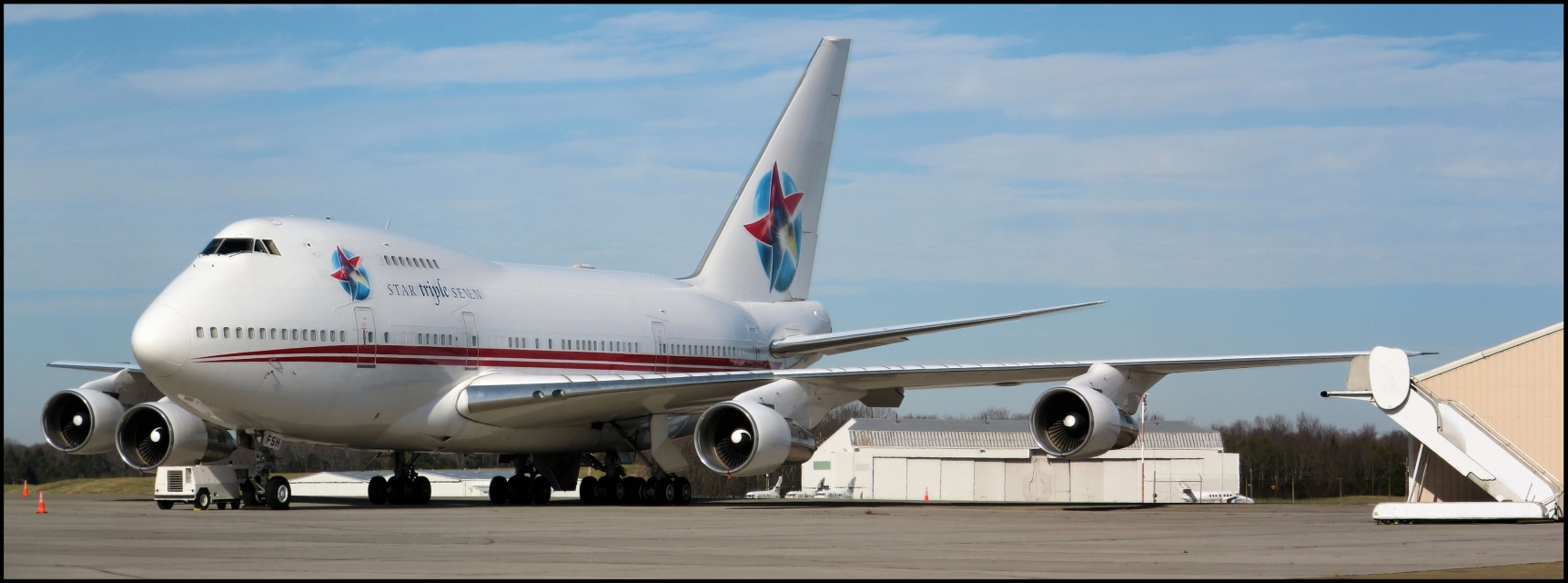 Star Triple Seven (Ernest Angley Ministries) Boeing 747SP-31 (P4-FSH) **Panoramic**