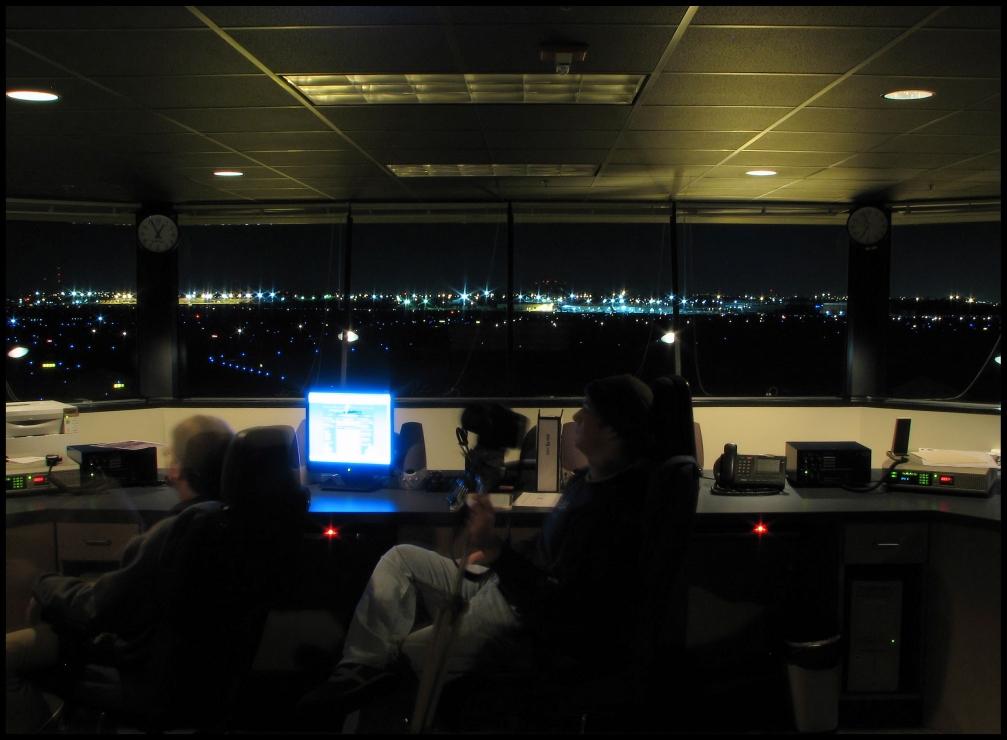 BNA Terminal Ramp Control Tower
