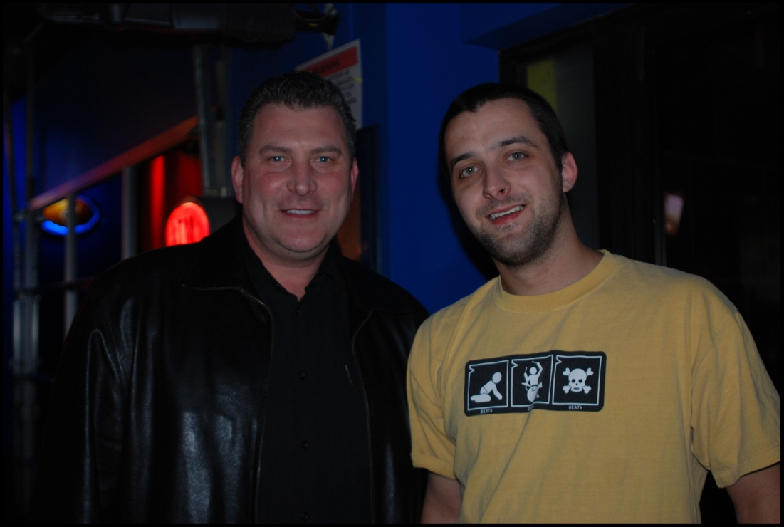 Nashville Predators Assistant Coach Peter Horachek and myself