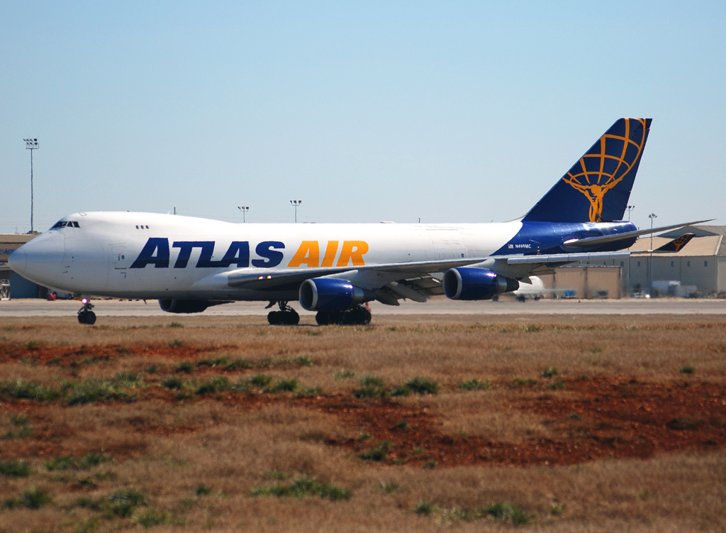 Atlas Air Boeing 747-47UF(SCD) (N499MC) **Huntsville International Airport (KHSV)**