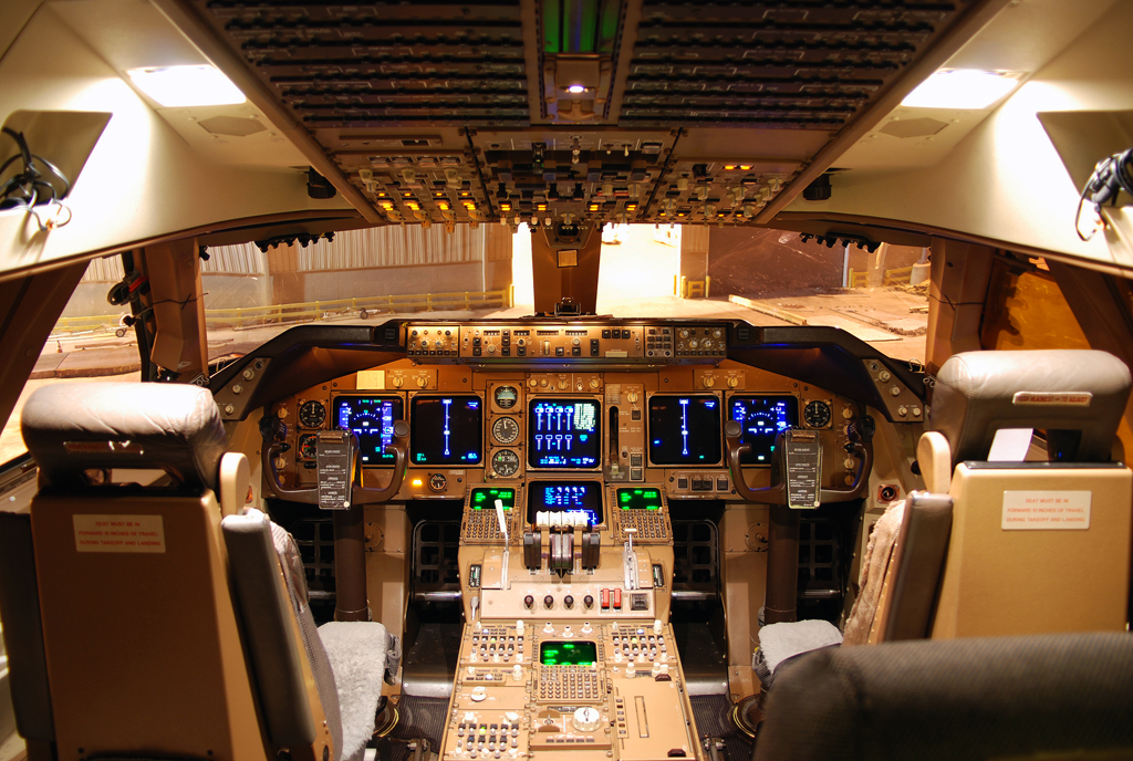 **Untitled** Boeing 747-400 Flightdeck