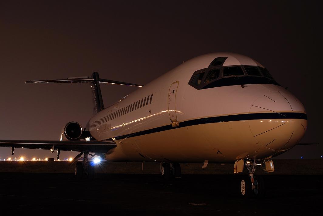 Columbus Blue Jackets (NHL) DC-9 (N697BJ)
