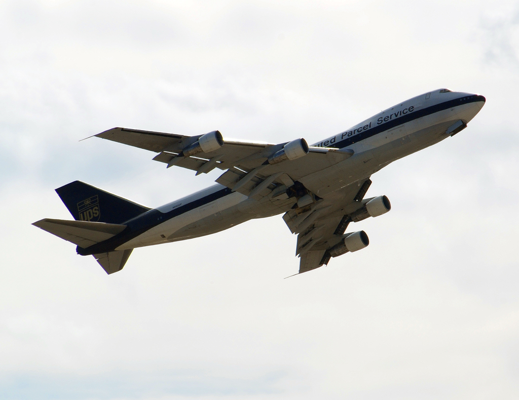 United Parcel Service (UPS) Boeing 747-121 (N682UP)