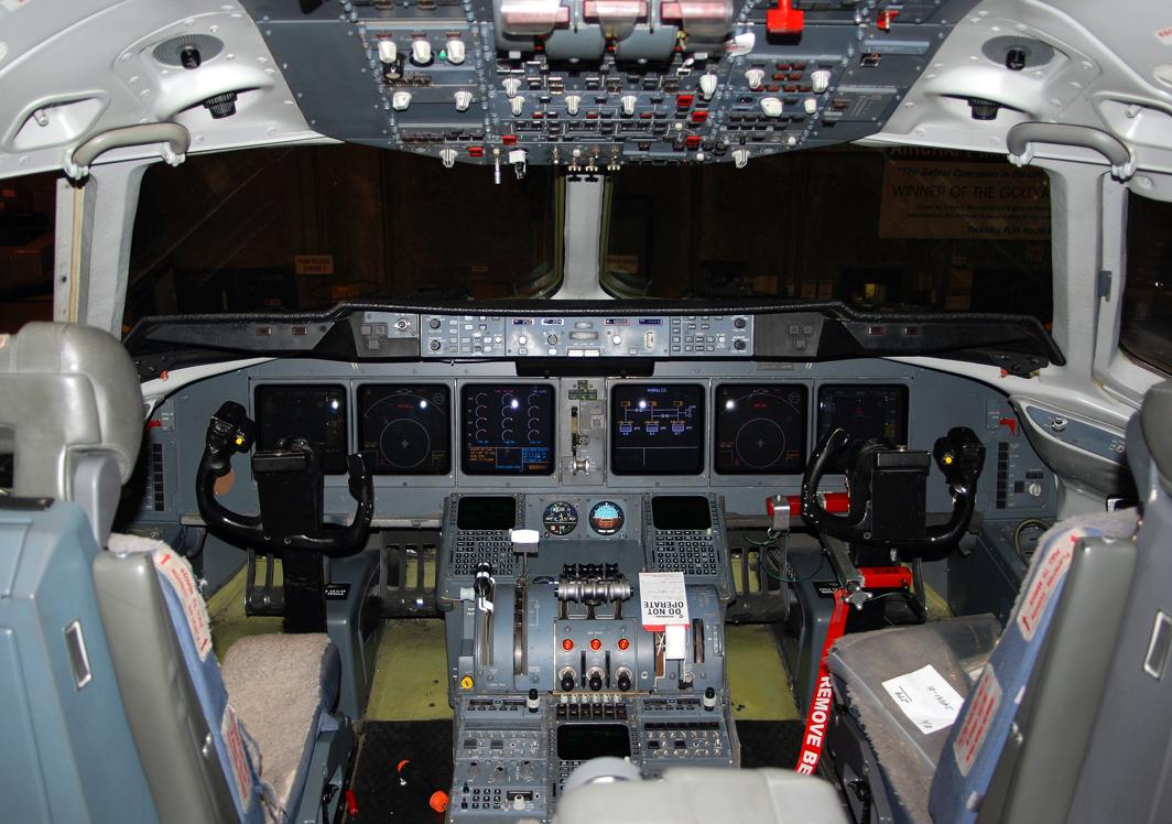 United Parcel Service (UPS) McDonnell Douglas MD-11 (N279UP) **Cockpit**