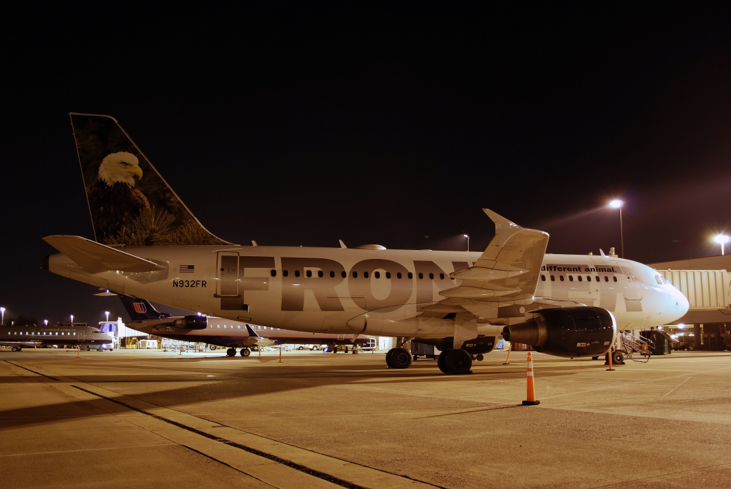Frontier Airlines Airbus A319 (N932FR) Bald Eagle