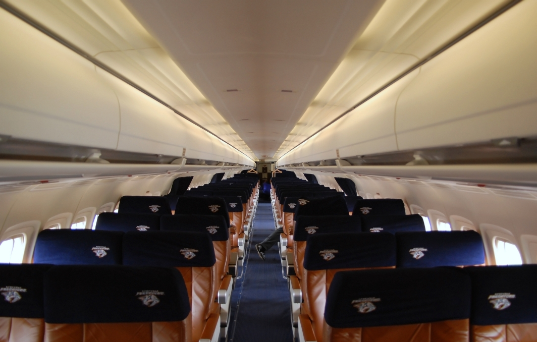 Midwest Airlines McDonnell Douglas MD-81 (N804ME) **Cabin Shot**