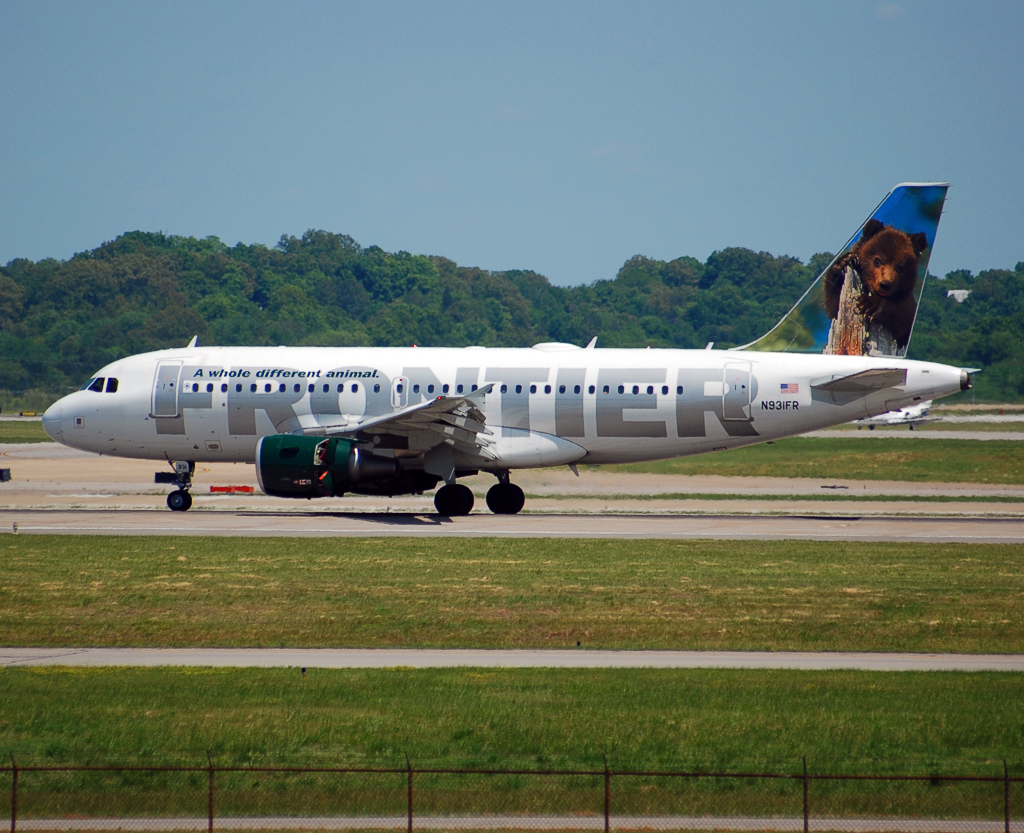 Frontier Airlines Airbus A319 (N931FR)