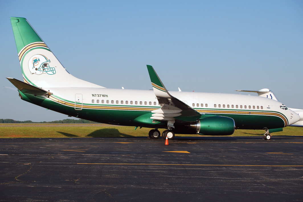 Miami Dolphins Boeing 737-75T BBJ (N737WH)