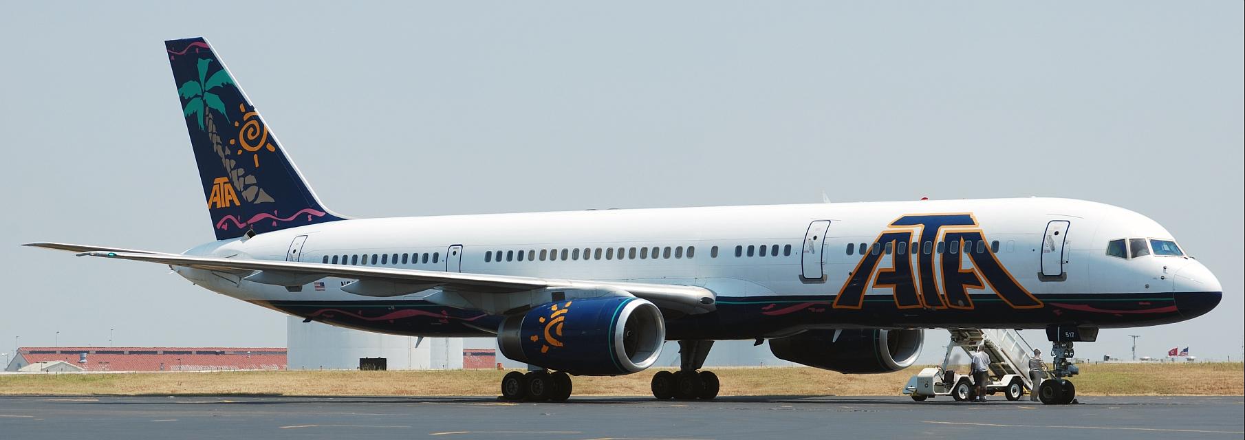 ATA Airlines Boeing 757-23N (N517AT)  **Panoramic**