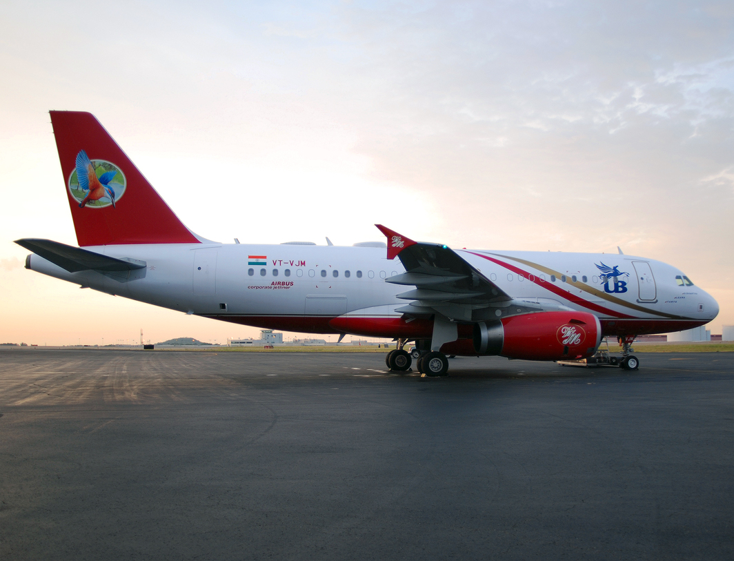 Kingfisher Airlines (UB Group) Airbus A319-133X CJ (VT-VJM)