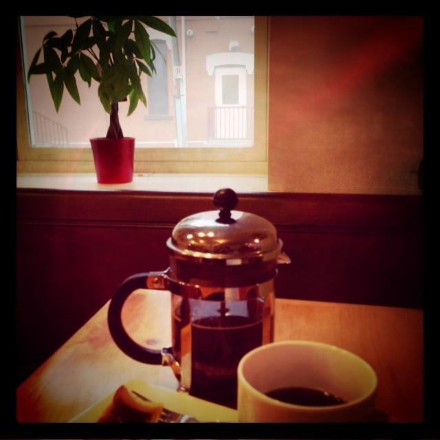 morning coffee ...