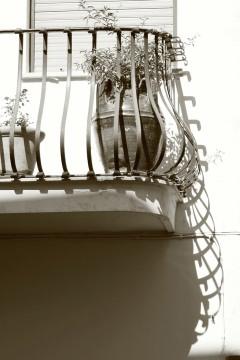 Balcony in Capri, Italy