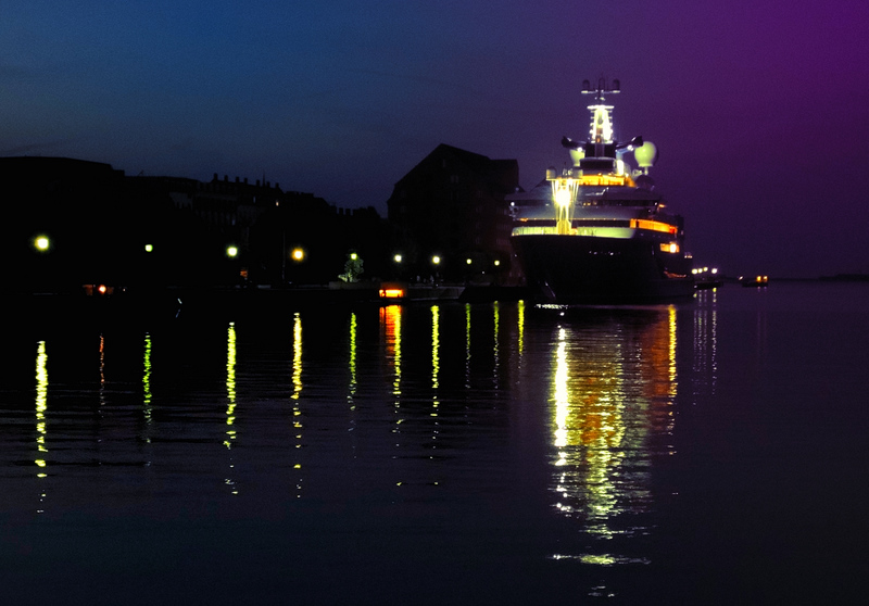 Copenaghen,Denmark. The Harbor