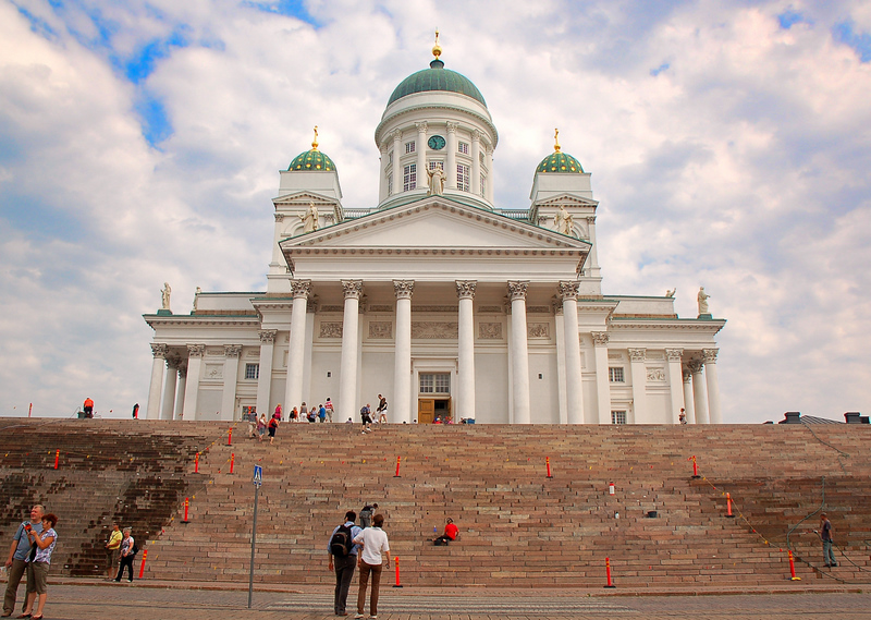 Helsinkis Lutheran Cathedral, built from 1830 to 1851 in a neoclassical style