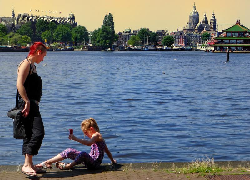 Amsterdam surprisingly beautiful...