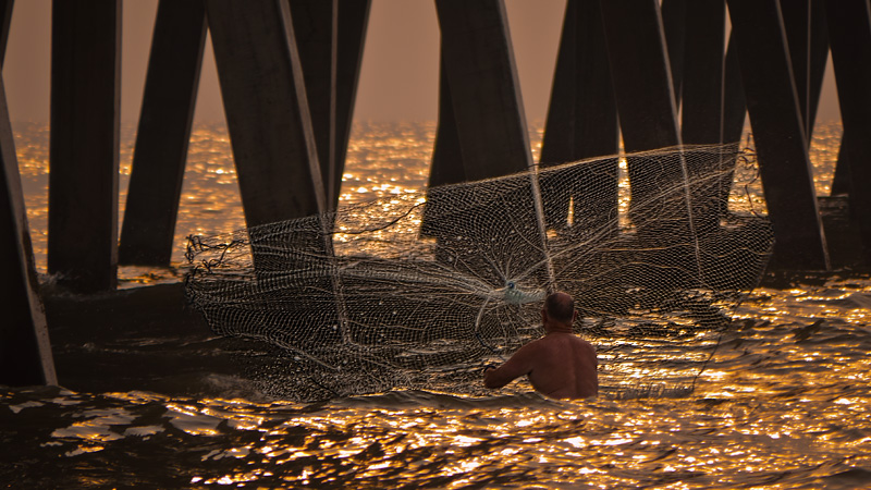 Pier and Net