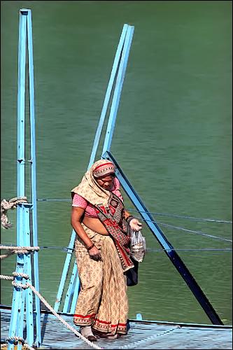 Crossing the Ganga