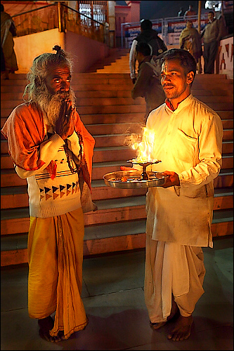 The Sadhu and the Priest