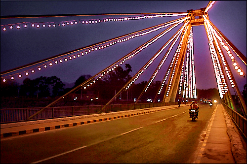 Bridge over the Ganga