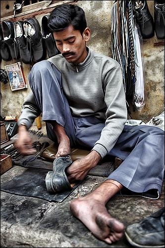 Portrait of a Shoemaker