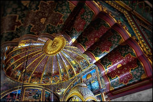 Ceiling of the main Shrine