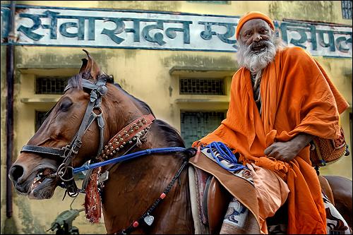 The Guru on His Horse