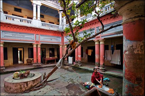 Living in a Dharmasala