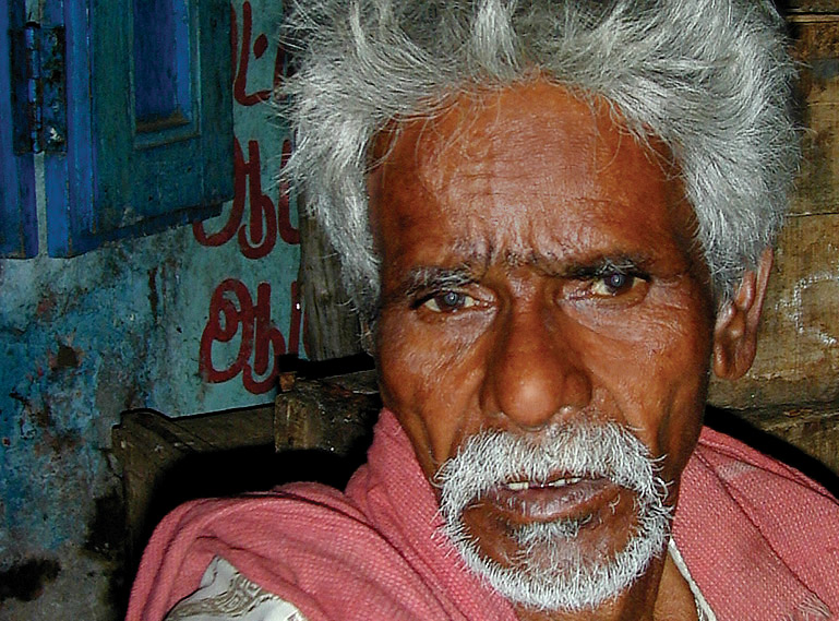Dreamy Old Man
